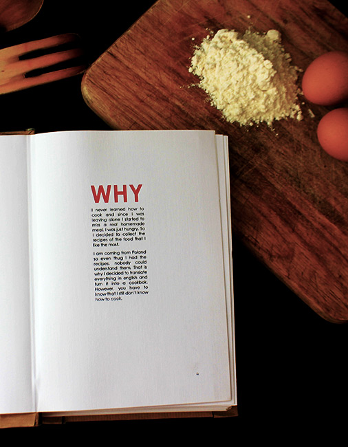 Because I was Hungry Cookbook Book-Introduction