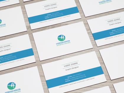 Hydrogen Horizon Business Cards