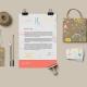 Handmade Wedding Corporate Stationery