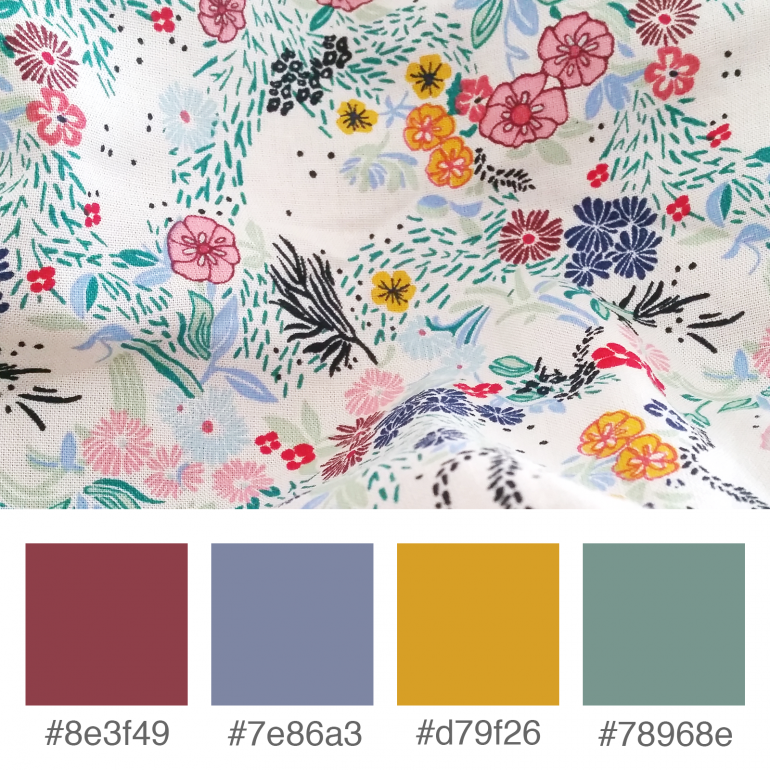 Weekly Colours Inspiration - Spring