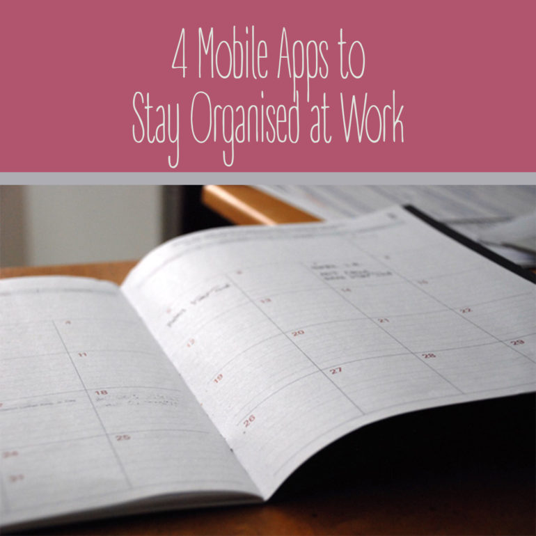 Mobile Apps to Stay Organised