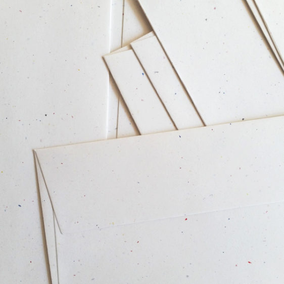 Paper and envelopes detail