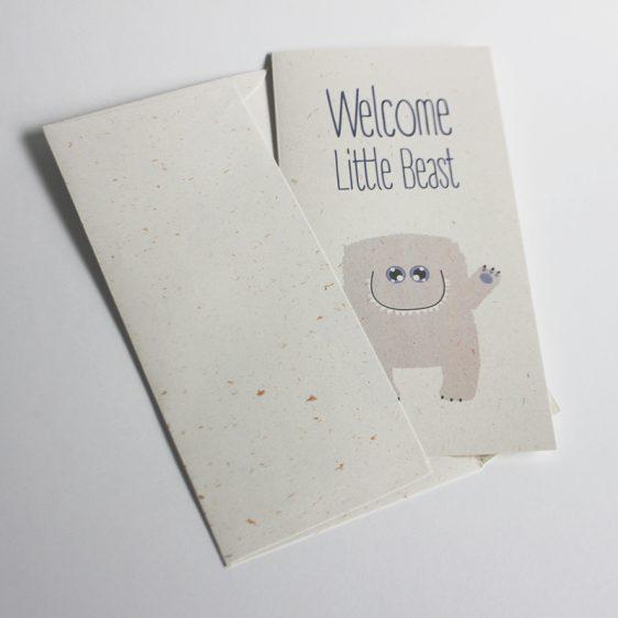 Little Beast Card Boy Inside the Envelope-800px