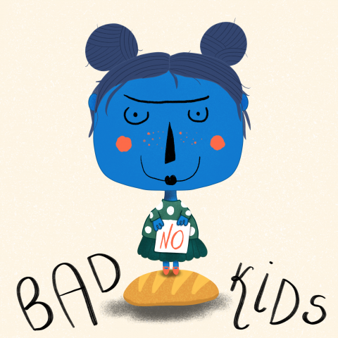 No Bad Kids Illustration
