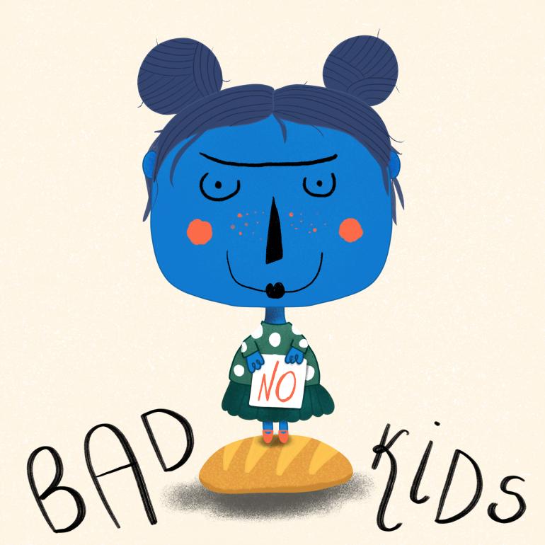 No Bad Kids Illustration