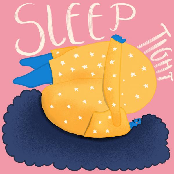Sleep Tight Illustration
