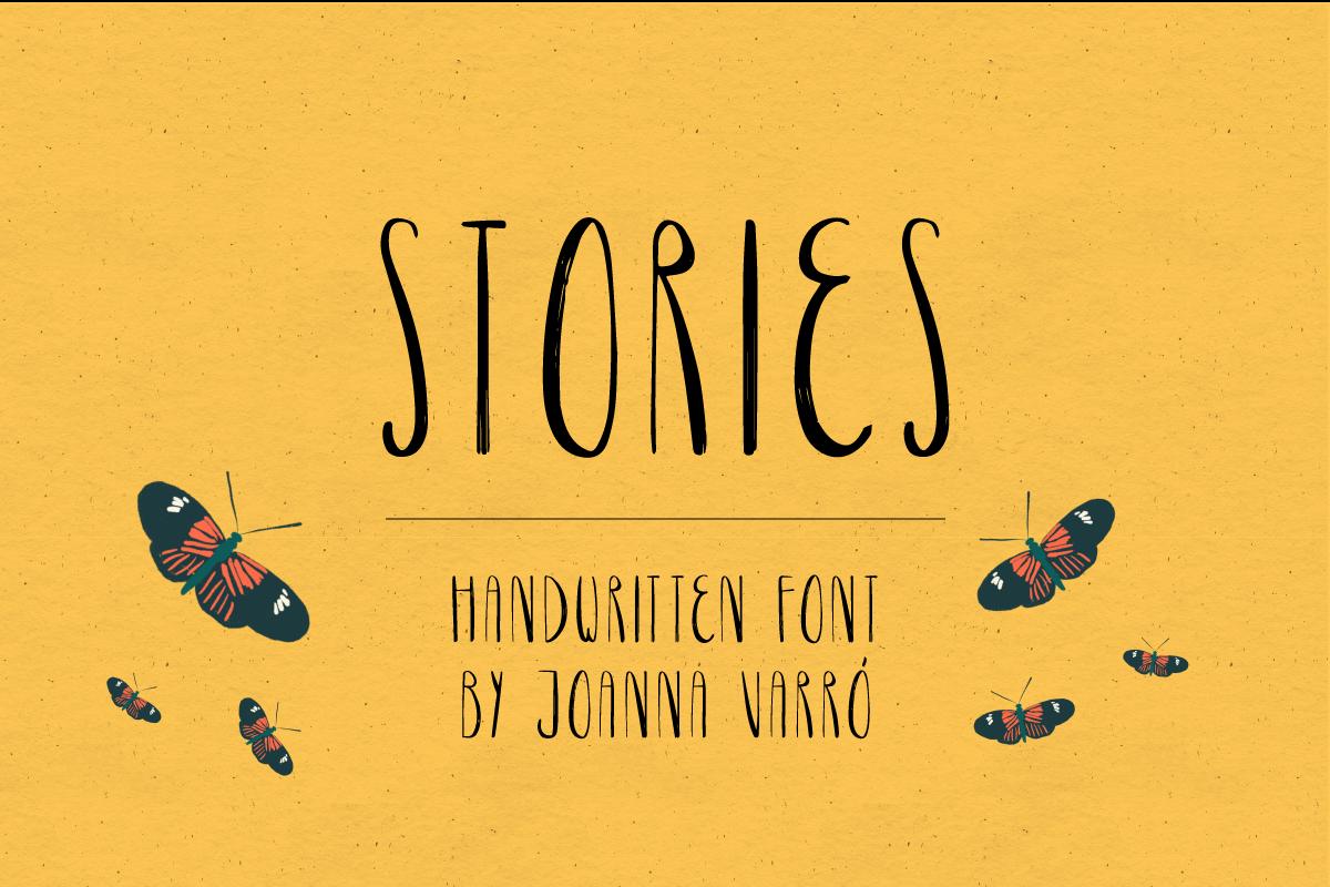 Stories Font