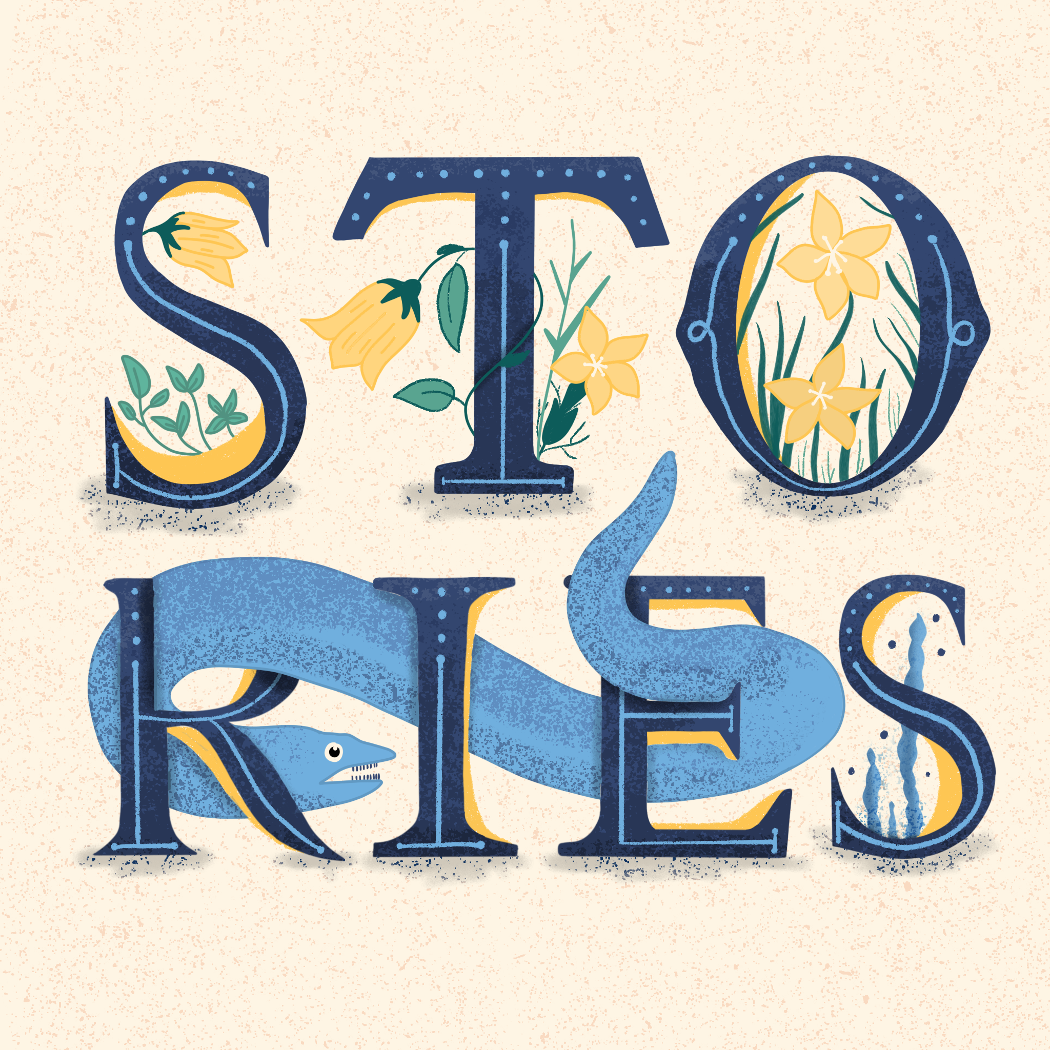 Stories Lettering