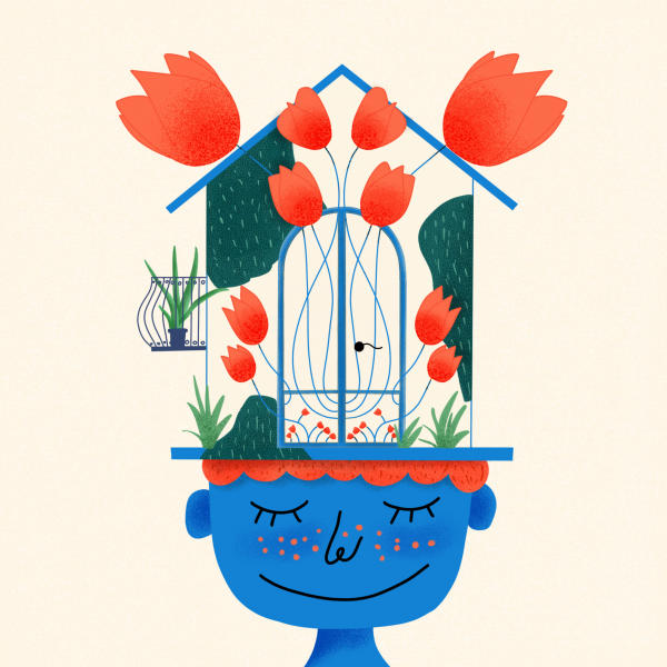The Old House Illustration