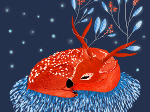 Warm Christmas Illustrations