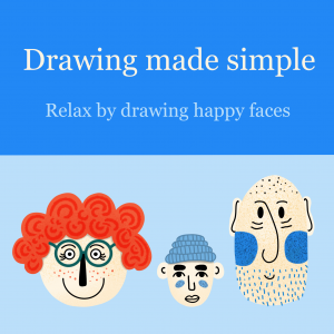 Relax by Drawing Happy Faces