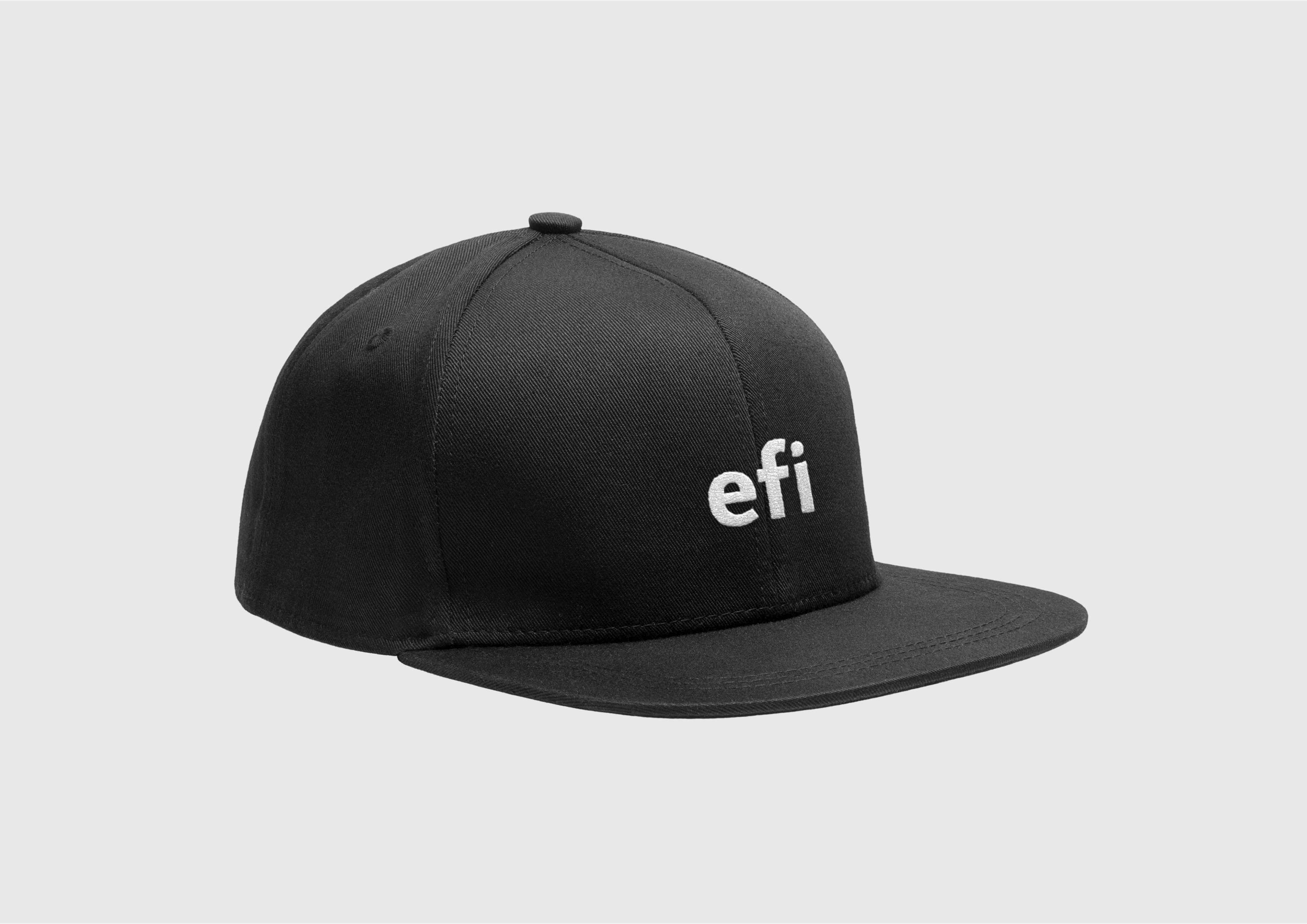 Hat with EFI logo icon