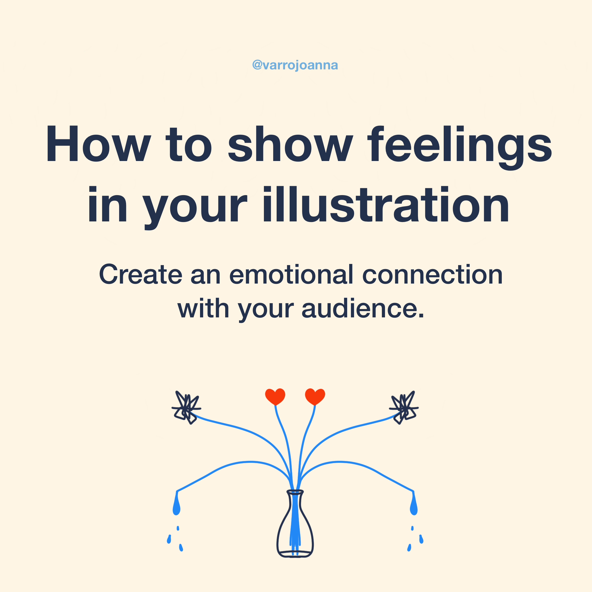 How to show feelings in your illustration