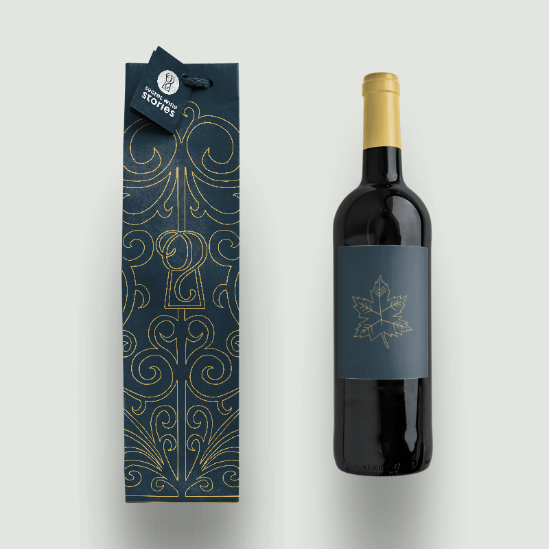 Secret Wine Stories Packaging