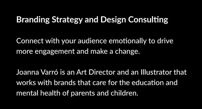 Branding Strategy and Design Consulting