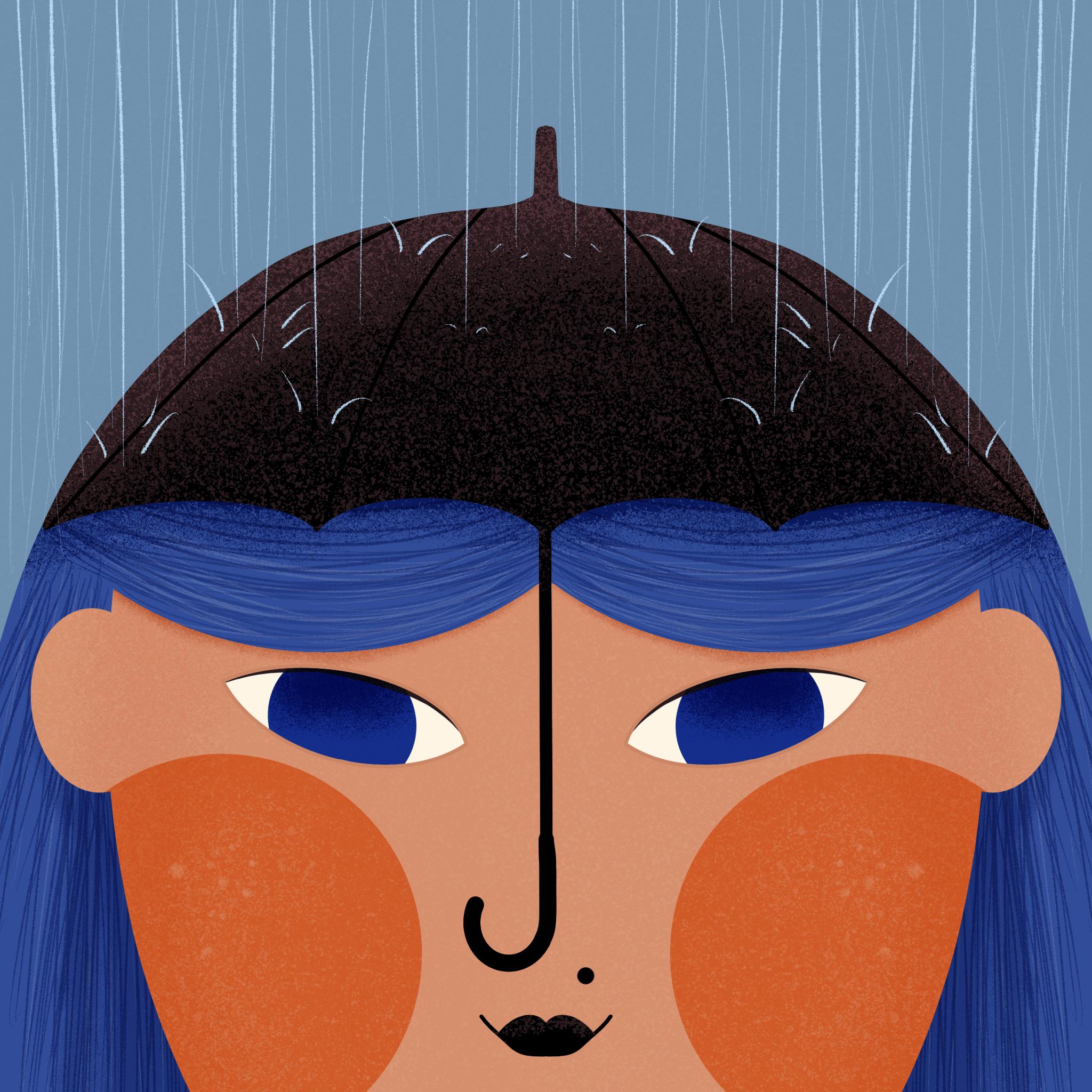 Depression Help Illustration
