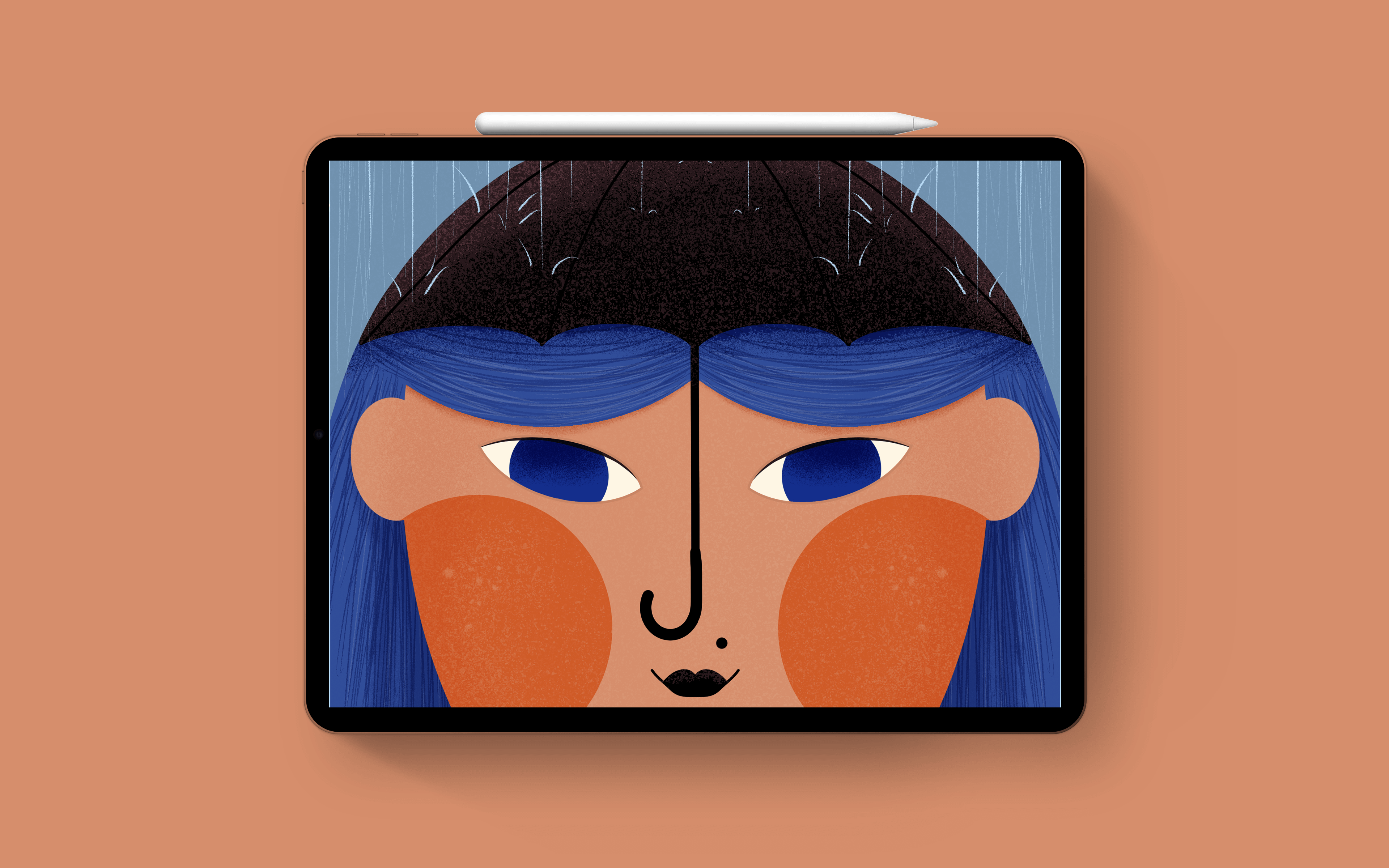 Digital Illustrations about Mental Health