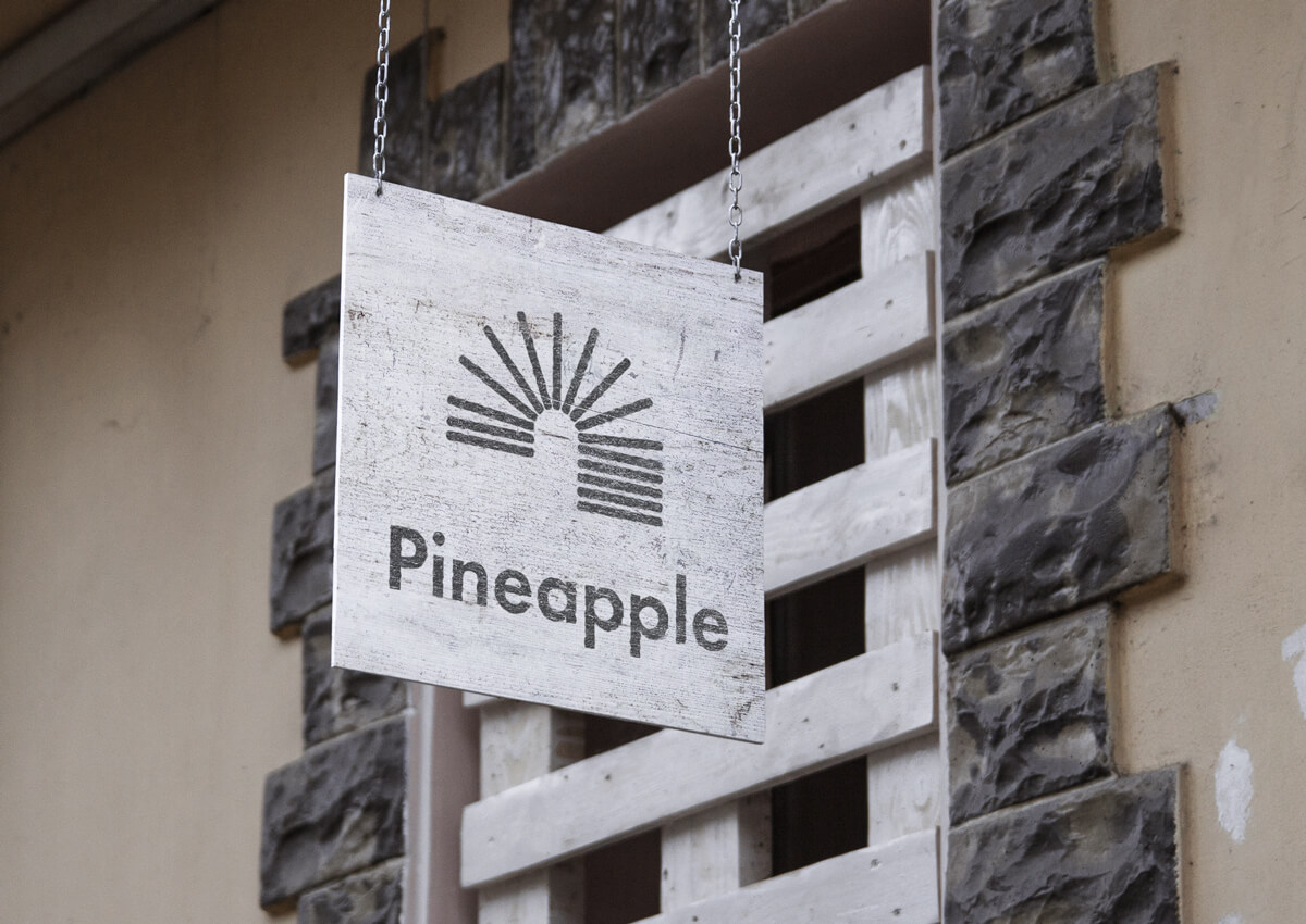 Pineapple-Logo-Signage