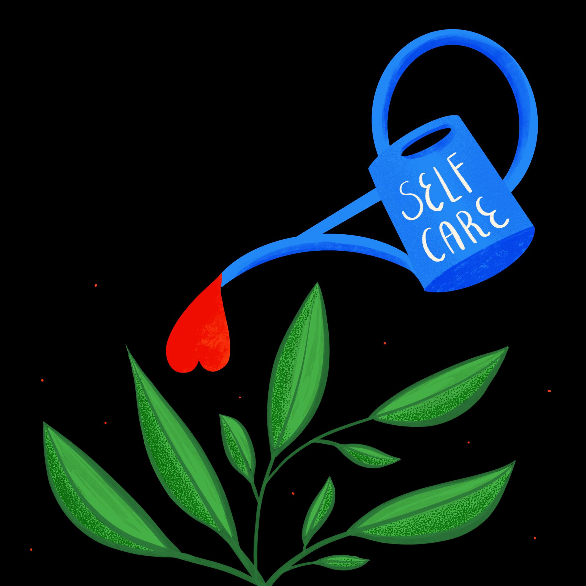 Self Care Illustration