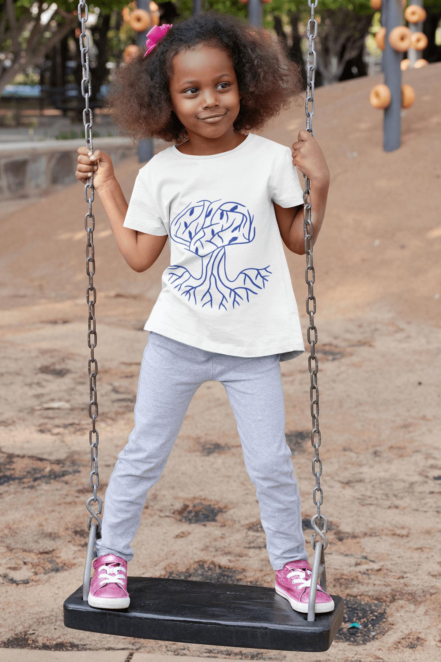 Trusting Children Logo on T-shirt